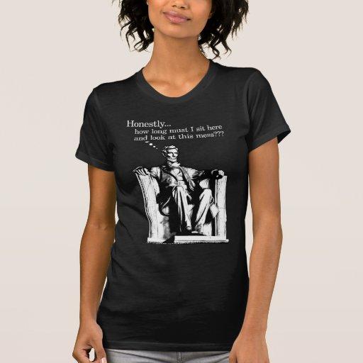 Honesto… Camisetas de las señoras