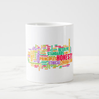Honesty and Trustworthy Character of a Person Giant Coffee Mug