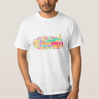 Honesty and Trustworthy Character of a Person T-Shirt