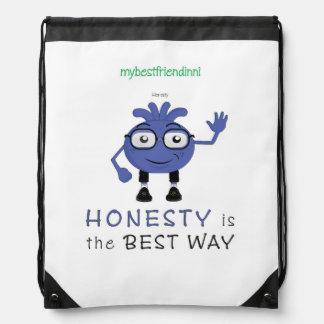 Honesty Drawstring Backpack