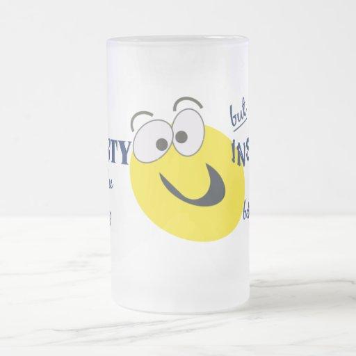 Honesty / Insanity mug