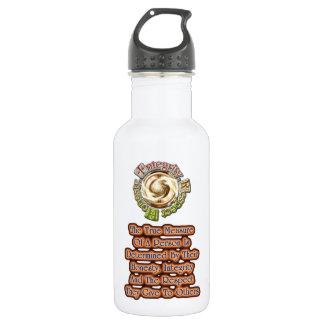 Honesty Integrity Respect TS Water Bottle