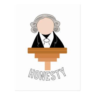 Honesty Postcard