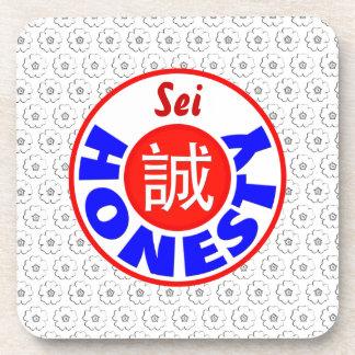 Honesty - Sei Drink Coaster