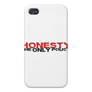 Honesty The Only Policy iPhone 4/4S Cases