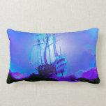 Honesty, Truth, Integrity, Honor, Ship, Waves Throw Pillows