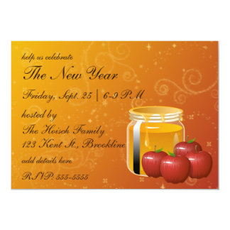 Honey and Apple Swirl Card