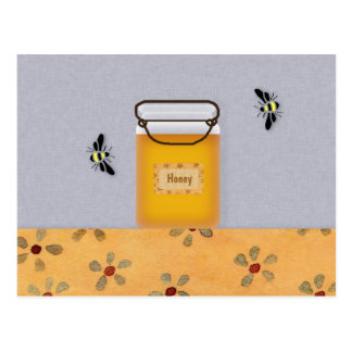 Honey and Bees Recipe Card