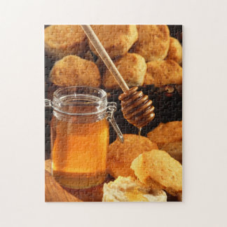 Honey and Biscuits Food Jigsaw Puzzle