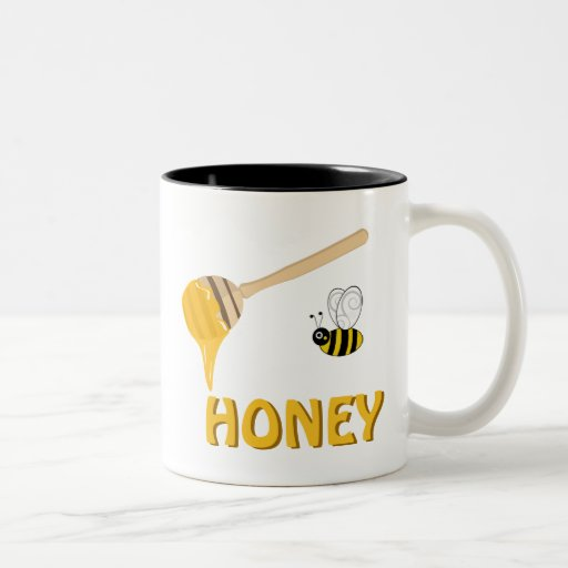 A Marble In A Cup Of Honey : Honey and bee cup coffee mugs zazzle