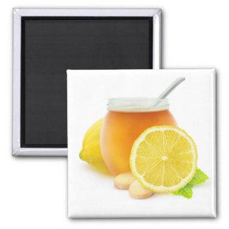 Honey and lemon magnet