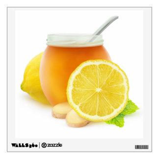 Honey and lemon wall sticker