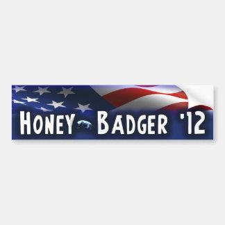 Honey Badger 12 - Election 2012 Bumper Stickers