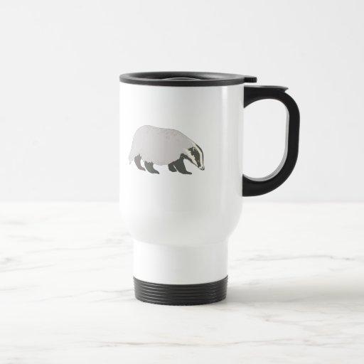 honey badger 15 oz stainless steel travel mug