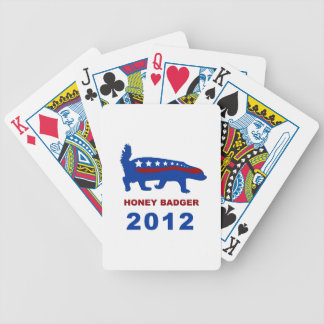 HONEY BADGER 2012 BICYCLE PLAYING CARDS