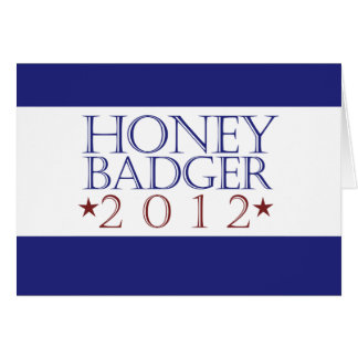 Honey Badger 2012 Card