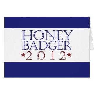 Honey Badger 2012 Card
