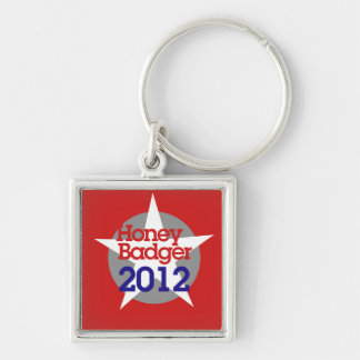 Honey Badger 2012 Keychain
