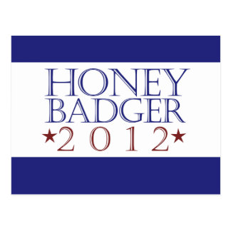 Honey Badger 2012 Postcard