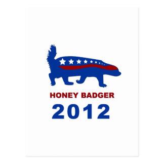 HONEY BADGER 2012 POST CARDS