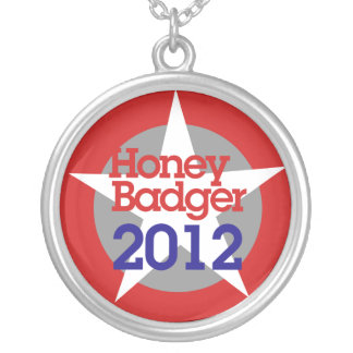 Honey Badger 2012 Silver Plated Necklace