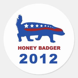 HONEY BADGER 2012 STICKERS