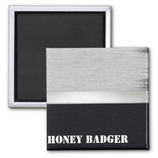 Honey badger 2 inch square magnet