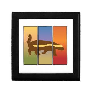 HONEY BADGER ART THREE PANEL SUPER SPECIAL GIFT BOX