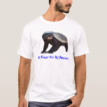 Honey Badger Ate My Homework T-Shirt
