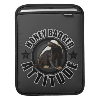 Honey Badger ATTITUDE - Round Design Sleeves For iPads