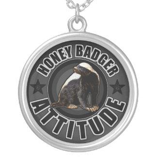 Honey Badger ATTITUDE - Round Design Jewelry