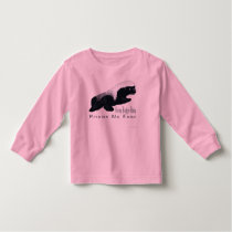 Honey Badger Baby Toddler Long Sleeve Toddler T-shirt