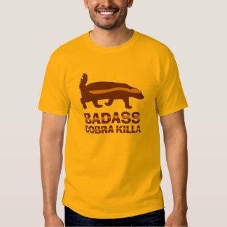 Honey Badger - Badass Cobra Killa Tee Shirt