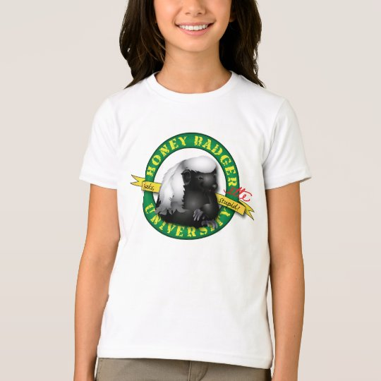 Honey Badger Badgerette T-Shirt