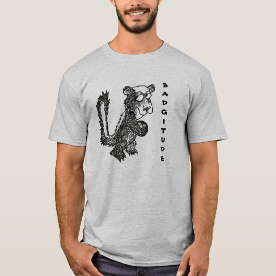 Honey Badger Badgitude T-Shirt