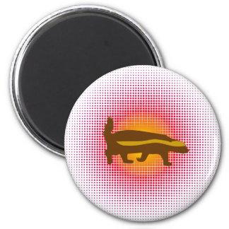 Honey Badger Bang Bang Balls Whoopie! 2 Inch Round Magnet