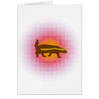 Honey Badger Bang Bang Balls Whoopie! Card