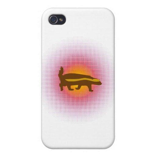 Honey Badger Bang Bang Balls Whoopie! iPhone 4 Case