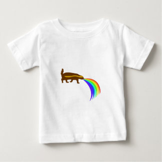 Honey Badger Barfing Rainbow Baby T-Shirt