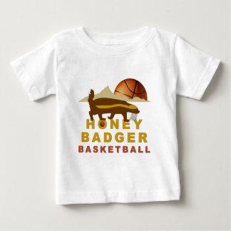 Honey Badger Basketball Baby T-Shirt