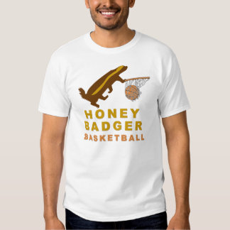 Honey Badger Basketball Tee Shirt