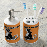 Honey badger bath set