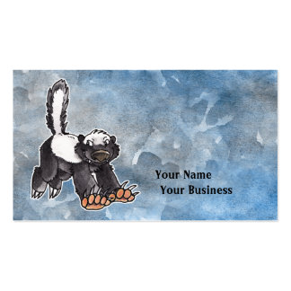 Honey Badger Business Card