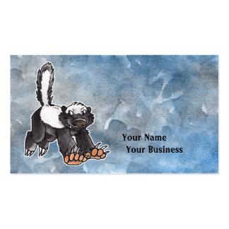 Honey Badger Business Card Template
