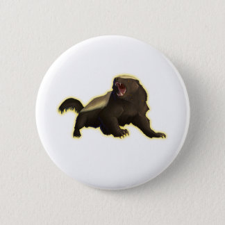 Honey Badger Button
