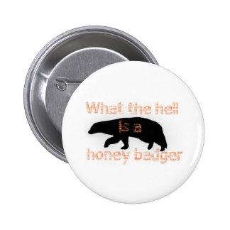 Honey Badger Buttons