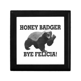 Honey Badger Bye Felicia Jewelry Box