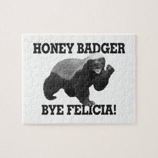 Honey Badger Bye Felicia Jigsaw Puzzle