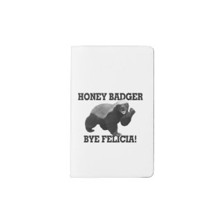 Honey Badger Bye Felicia Pocket Moleskine Notebook