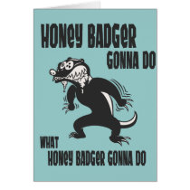 Honey Badger Card
